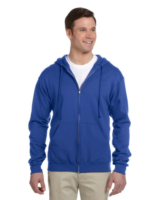 Picture of Jerzees 993 Adult 8 oz. NuBlend Fleece Full-Zip Hood