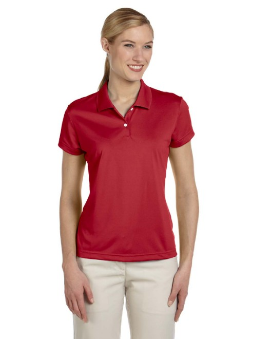 Picture of adidas Golf A122 Womens climalite Short-Sleeve Pique Polo