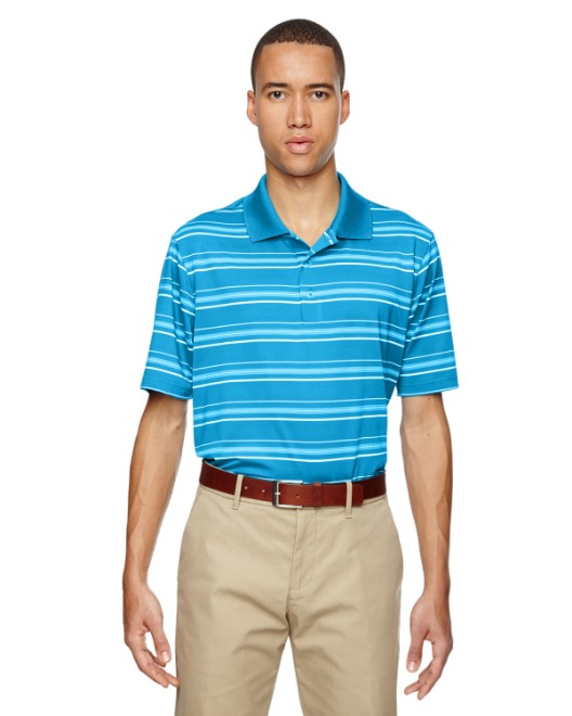 Picture of adidas Golf A123 Men's puremotion Textured Stripe Polo