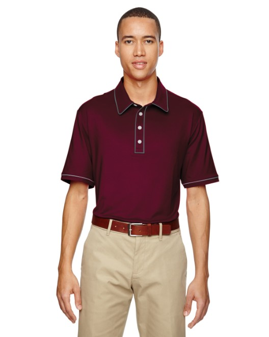 Picture of adidas Golf A125 Men's puremotion Piped Polo