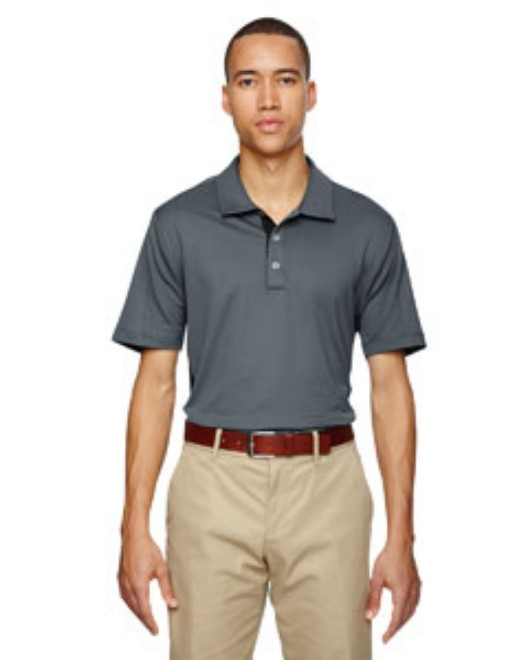 Picture of adidas Golf A128 Men's puremotion Colorblock 3-Stripes Polo