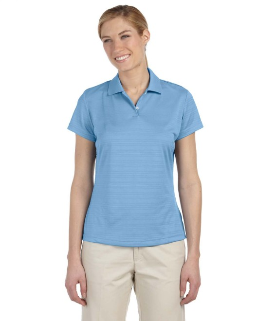 Picture of adidas Golf A162 Womens climalite Textured Short-Sleeve Polo