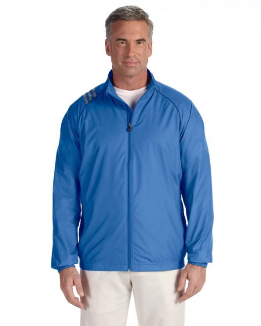 Picture of adidas Golf A169 Men's 3-Stripes Full-Zip Jacket