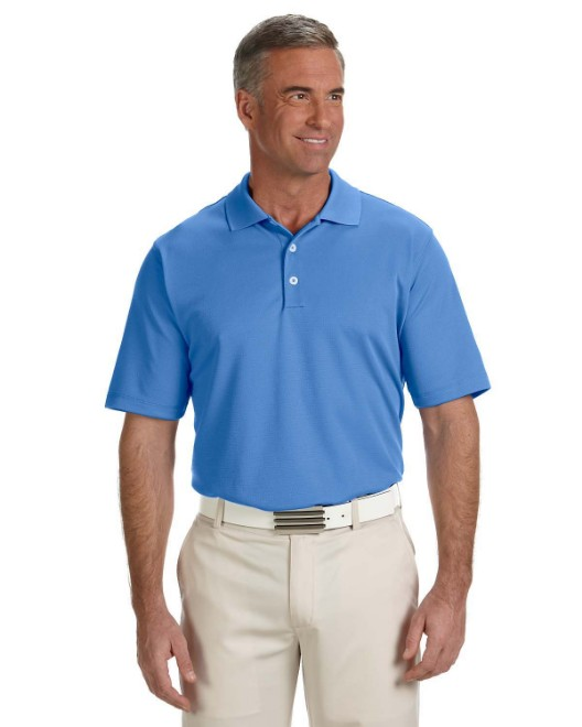 Picture of adidas Golf A170 Men's climalite Texture Solid Polo