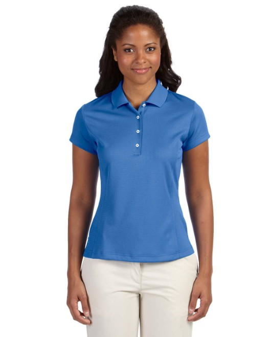 Picture of adidas Golf A171 Womens climalite Texture Solid Polo