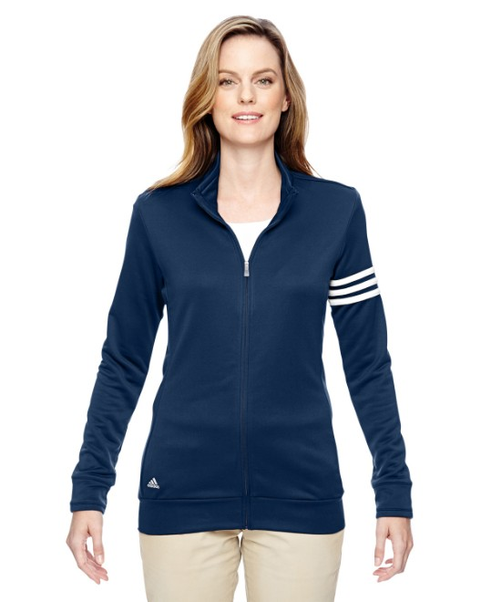 Picture of adidas Golf A191 Womens climalite 3-Stripes Full-Zip