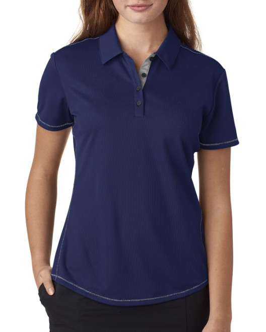 Picture of adidas Golf A222 Womens climacool Mesh Color Hit Polo