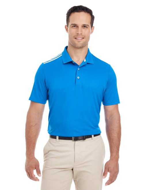 Picture of adidas Golf A233 Men's 3-Stripes Shoulder Polo