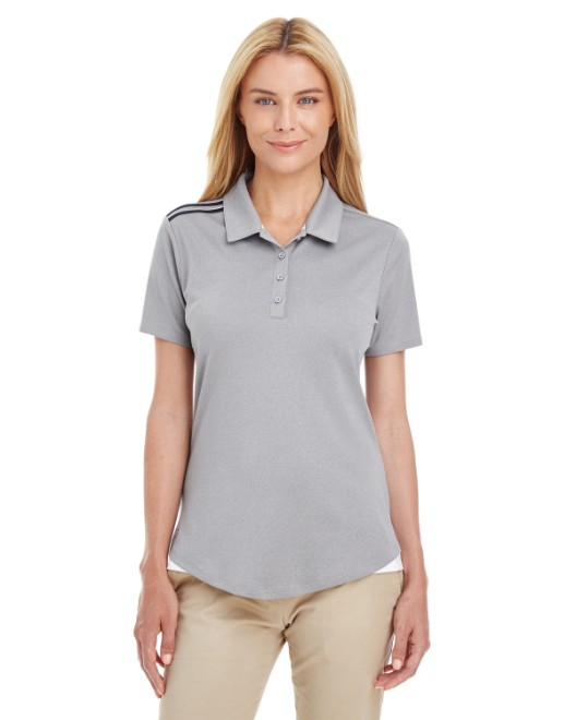 Picture of adidas Golf A235 Womens 3-Stripes Shoulder Polo