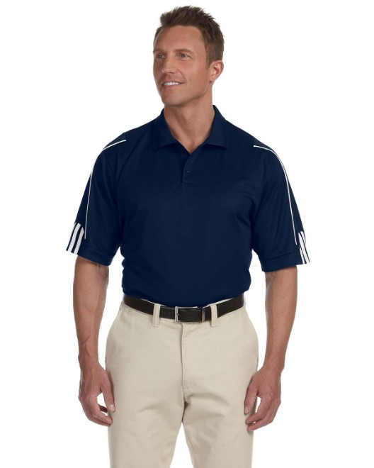 Picture of adidas Golf A76 Men's climalite 3-Stripes Cuff Polo