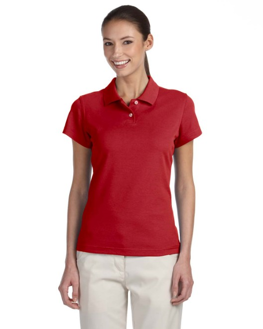Picture of adidas Golf A85 Womens climalite Tour Pique Short-Sleeve Polo