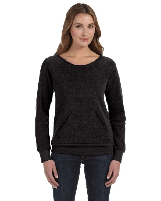 Picture of Alternative AA9582 Womens Maniac Eco-Fleece Sweatshirt