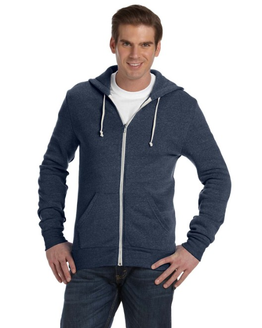 Picture of Alternative AA9590 Unisex Rocky Eco-Fleece Zip Hoodie