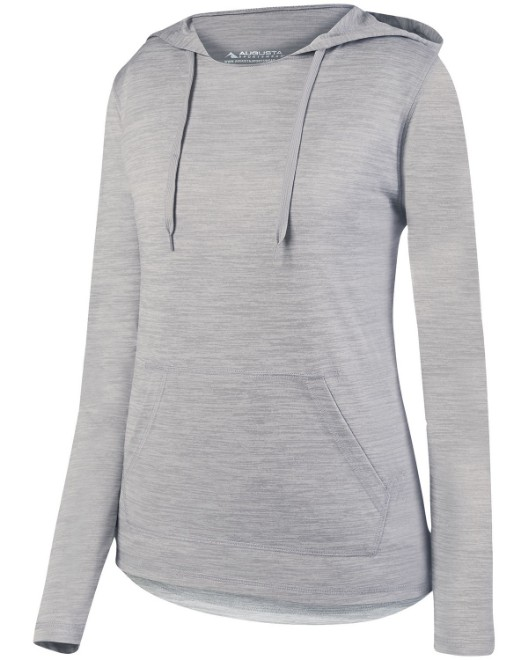 Picture of Augusta Sportswear AG2907 Womens Shadow Tonal Heather Hoodie