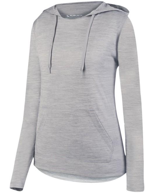 Picture of Augusta Sportswear AG2907 Womens Shadow TonalHeather Hoodie