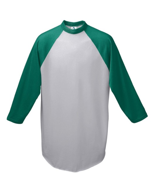 Picture of Augusta Sportswear AG4420 Adult 3/4-Sleeve Baseball Jersey