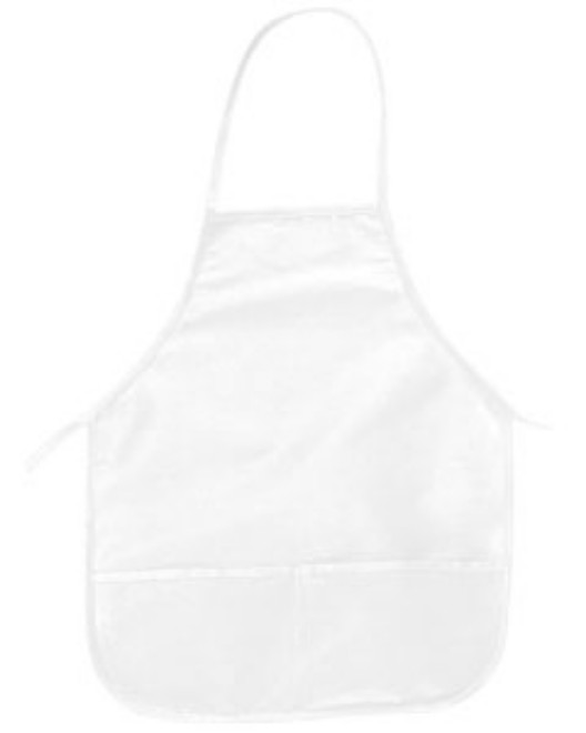 "Picture of Big Accessories APR51 Two-Pocket 24"""" Apron"