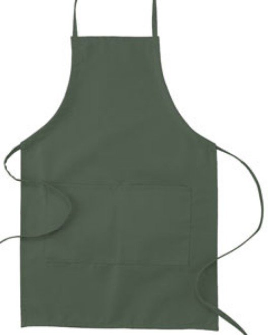 "Picture of Big Accessories APR53 Two-Pocket 30"""" Apron"