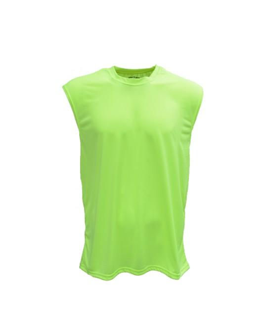 Picture of Bright Shield B199 Adult Performance Sleeveless Shooter Tee