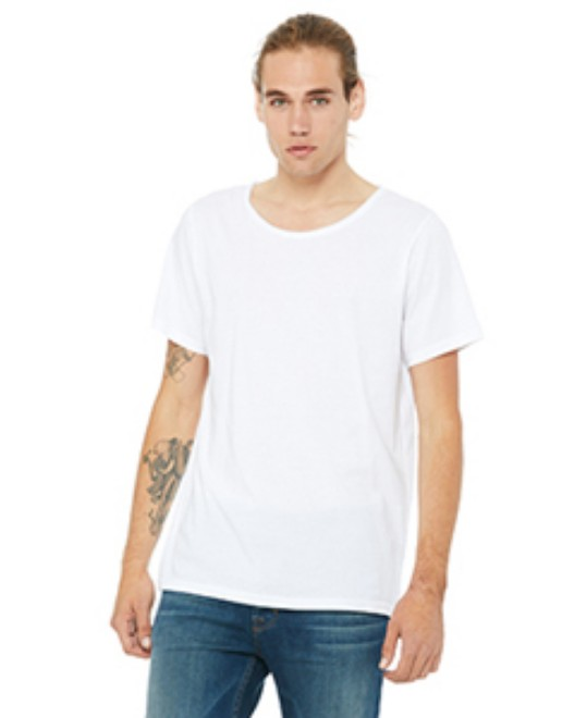 Picture of Bella + Canvas B3014 Men's Jersey Raw Neck T-Shirt