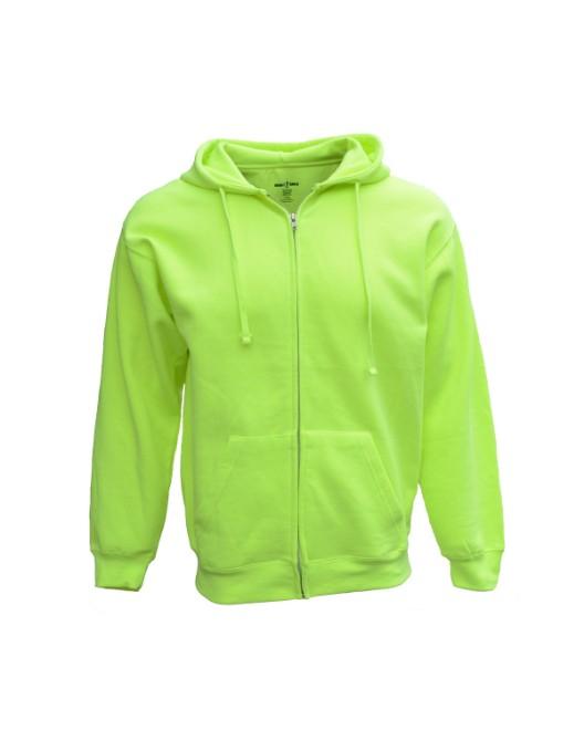 Picture of Bright Shield B501 Adult Full-Zip Fleece Hood
