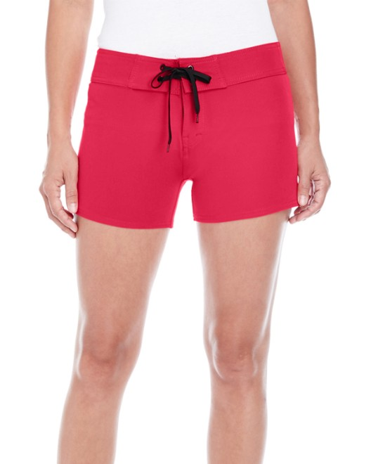 Picture of Burnside B5371 Womens Dobby Stretch Board Short