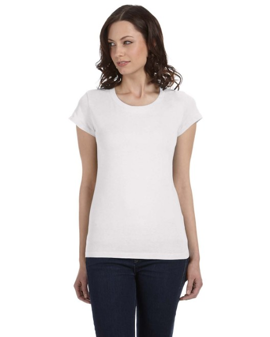 Picture of Bella + Canvas B8101 Womens Sheer Jersey Short-Sleeve T-Shirt