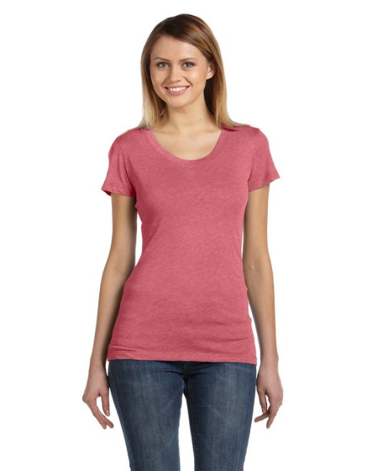 Picture of Bella + Canvas B8413 Ladies' Triblend Short-Sleeve T-Shirt