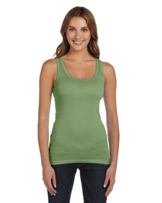 Picture of Bella + Canvas B8780 Womens Sheer Mini Rib Tank