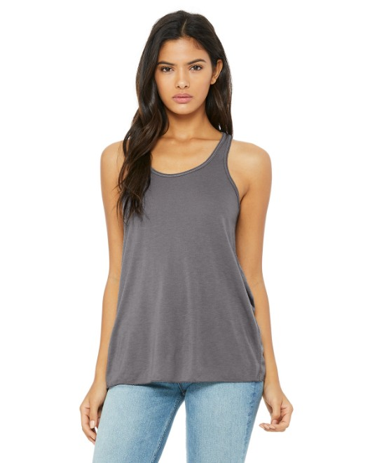 Picture of Bella + Canvas B8800 Womens Flowy Racerback Tank