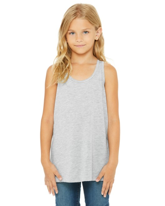 Picture of Bella + Canvas B8800Y Youth Flowy Racerback Tank