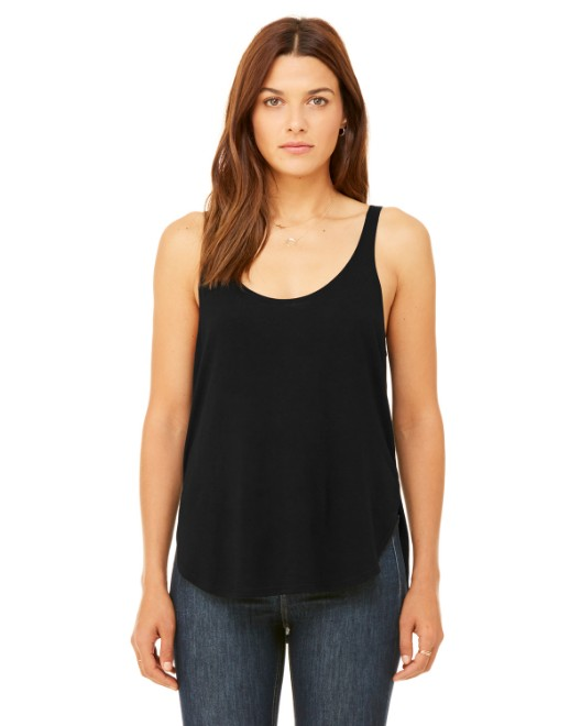 Picture of Bella + Canvas B8802 Womens Flowy Side Slit Tank