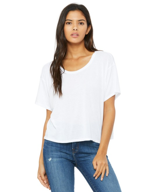 Picture of Bella + Canvas B8881 Womens Flowy Boxy T-Shirt