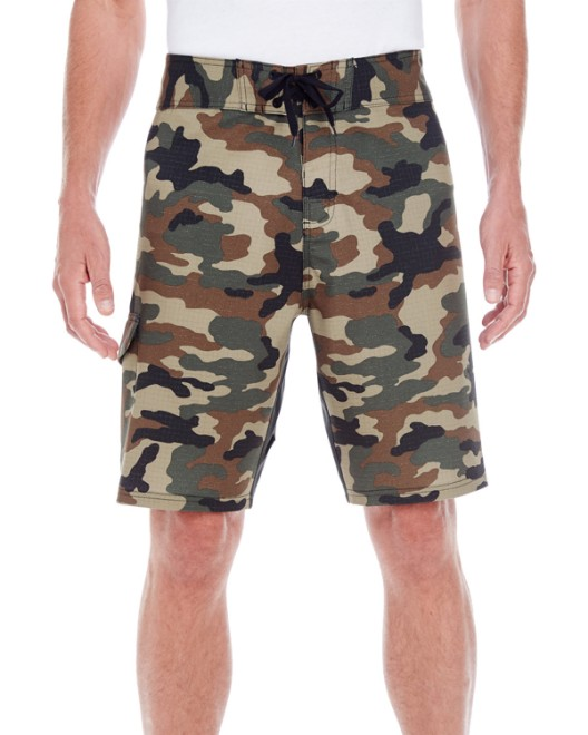 585688bbac Picture of Burnside B9371 Men's Dobby Stretch Board Short