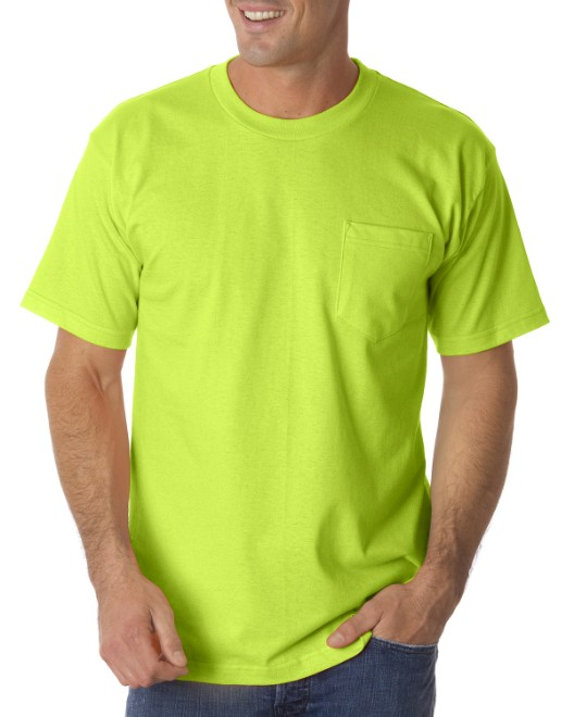 Picture of Bayside BA1725 Adult Pocket T-Shirt