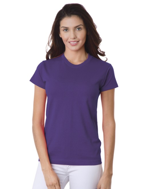 Picture of Bayside BA3325 Ladies' 6.1 oz., 100% Cotton T-Shirt