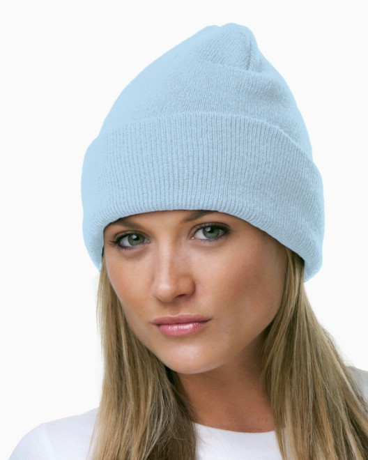Picture of Bayside BA3825 100% Acrylic Knit Cuff Beanie