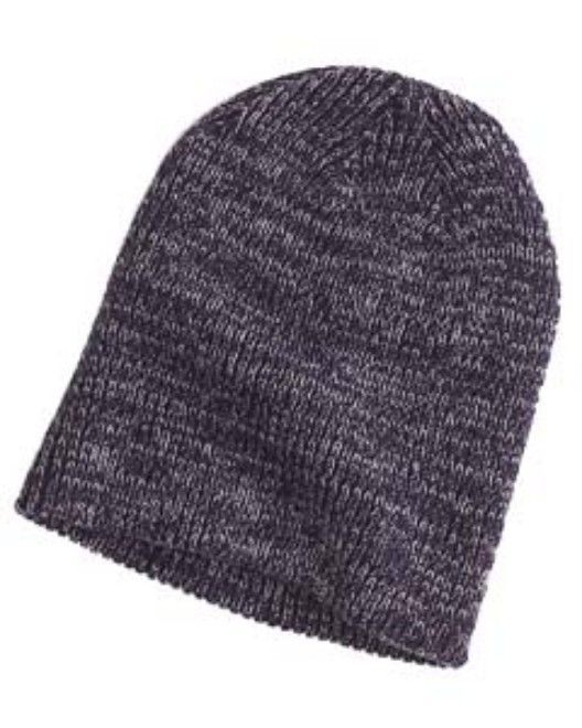 Picture of Big Accessories BA524 Ribbed Marled Beanie