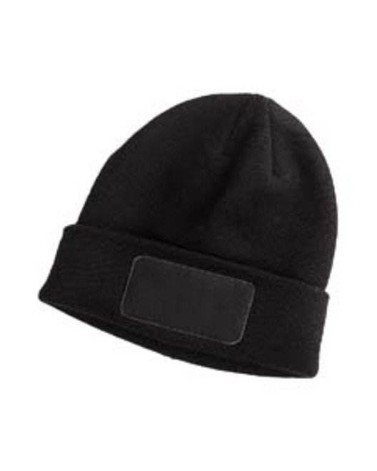 Picture of Big Accessories BA527 Patch Beanie