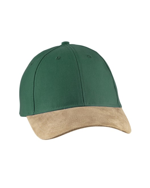 Picture of Big Accessories BA555 Suede Bill Cap