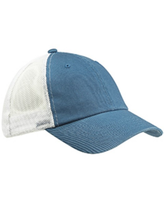 Picture of Big Accessories BA601 Washed Trucker Cap