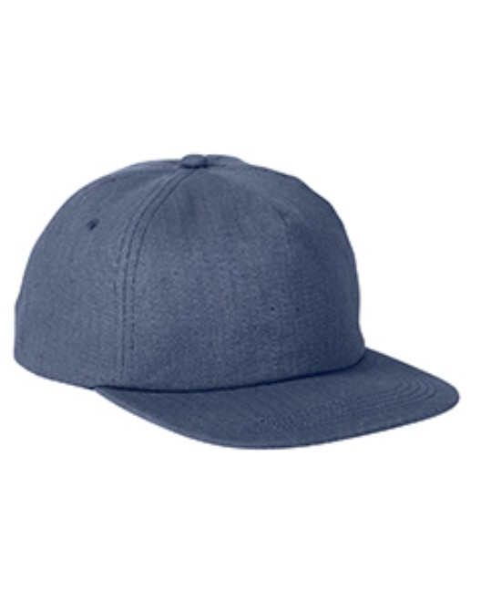 Picture of Big Accessories BA615 Squatty Herringbone Cap