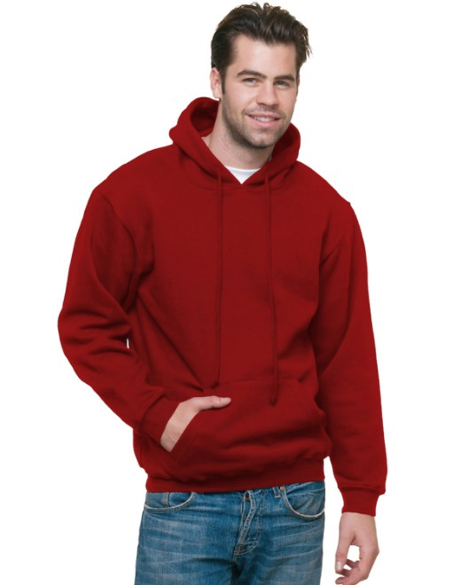 Picture of Bayside BA960 Adult 9.5 oz., 80/20 Pullover Hooded Sweatshirt