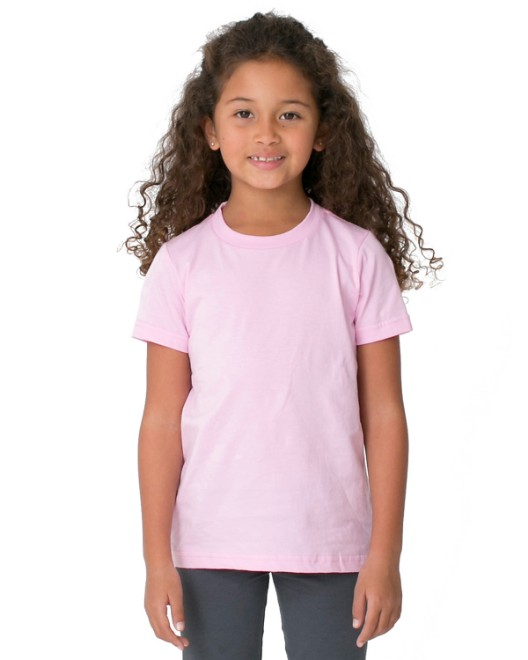 Picture of American Apparel BB101W Toddler Poly-Cotton Short-Sleeve Crewneck