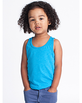 Picture of American Apparel BB108W Toddler Poly-Cotton Tank