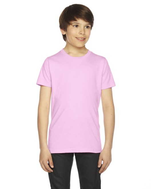 Picture of American Apparel BB201W Youth Poly-Cotton Short-Sleeve Crewneck
