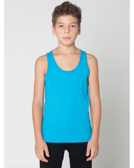 Picture of American Apparel BB208W Youth Poly-Cotton Tank
