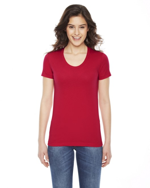 Picture of American Apparel BB301W Womens Poly-Cotton Short-Sleeve Crewneck