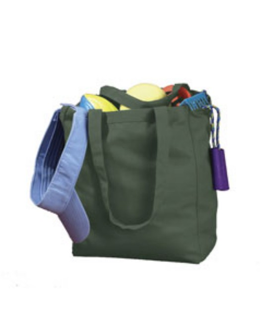 Picture of BAGedge BE008 12 oz. Canvas Book Tote