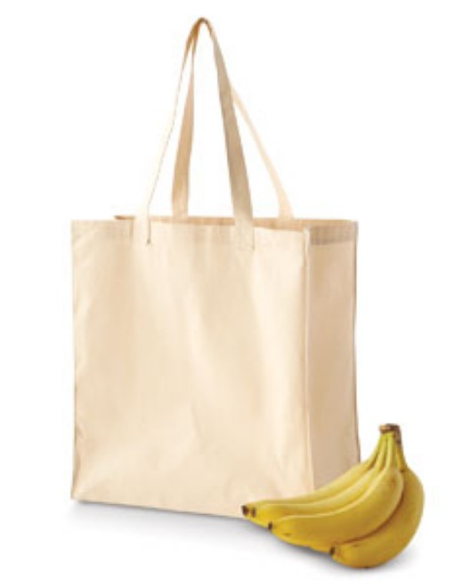 Picture of BAGedge BE055 6 oz. Canvas Grocery Tote